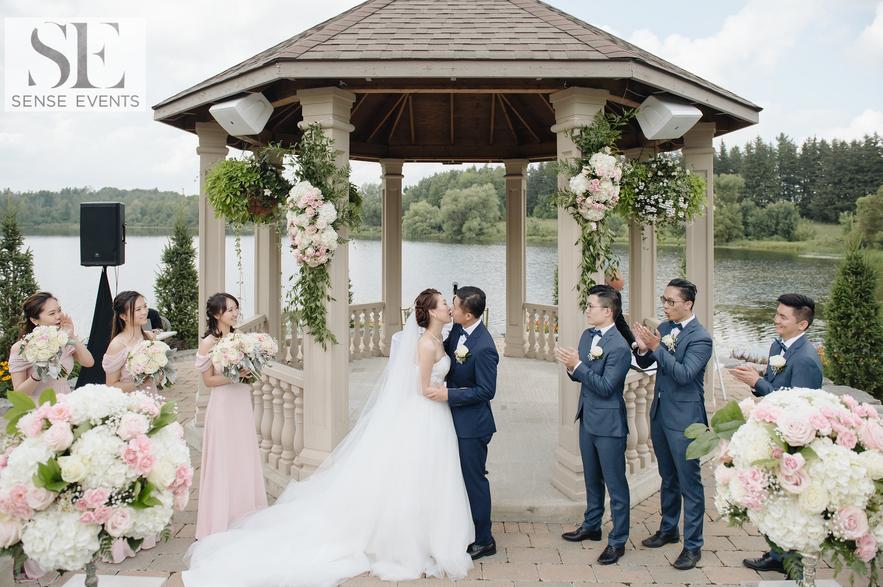 Kelly & Xinwen Wedding @ The Royal Ambassador-Sense Weddings & Events-多伦多婚礼策划-Ceremony 2