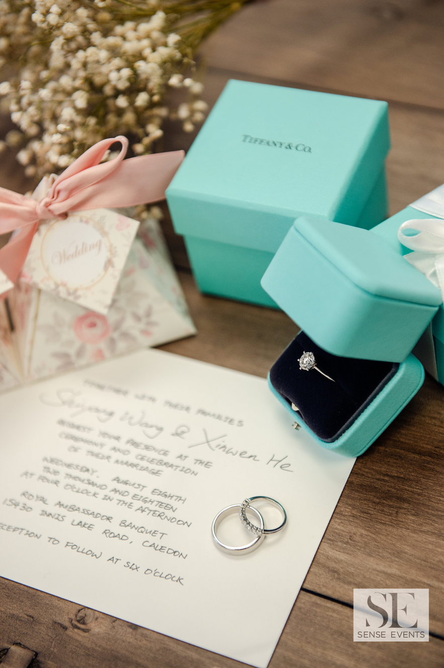 Kelly & Xinwen Wedding @ The Royal Ambassador-Sense Weddings & Events-多伦多婚礼策划-Ring
