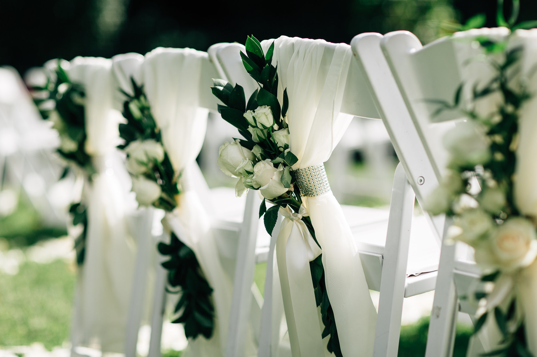 Wedding Ceremony-Chair Decor