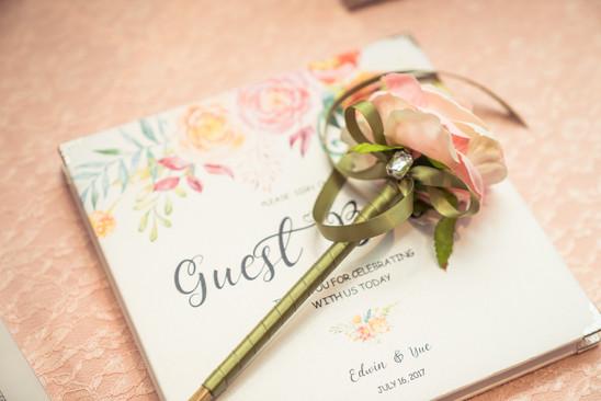 Sherry & Edwin Wedding -Avenue Banquet -Sense Weddings & Events-多伦多婚礼策划-Receiving Table 7.jpg