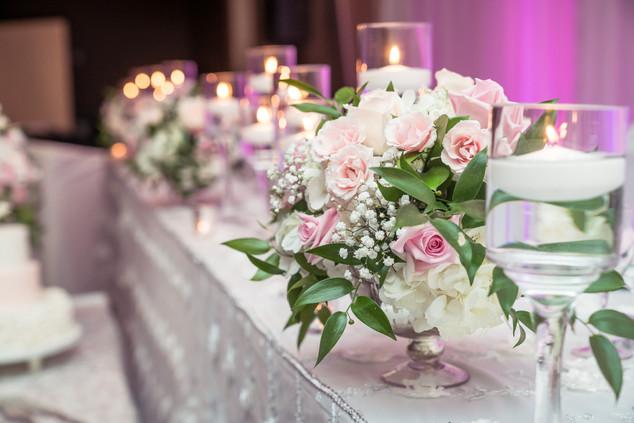 Sherry & Edwin Wedding -Avenue Banquet -Sense Weddings & Events-多伦多婚礼策划-Centerpieces 2.jpg
