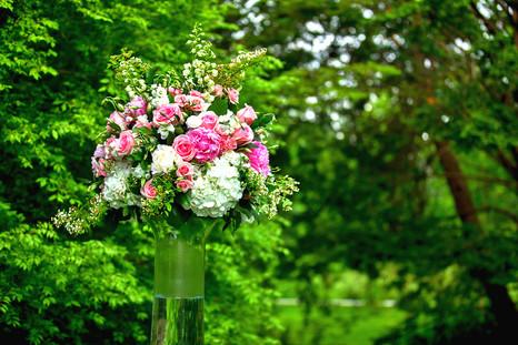 A&J Wedding Estate of Sunny Brook Ceremony Arrangement
