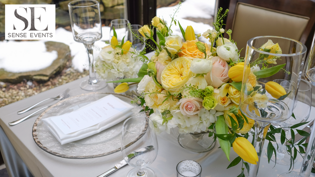 Ericas & Giggs Wedding at Ancaster Mill-Centrepieces 4