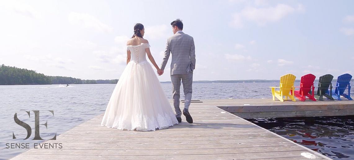 Wan & Michael Wedding -Muskoka Touch Stone Resort-Sense Weddings & Events-多伦多婚礼策划-Bride&Groom.PNG