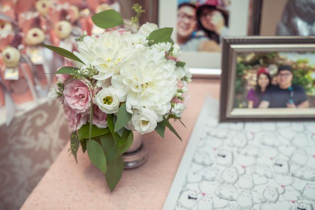 Sherry & Edwin Wedding -Avenue Banquet -Sense Weddings & Events-多伦多婚礼策划-Receiving Table 2.jpg