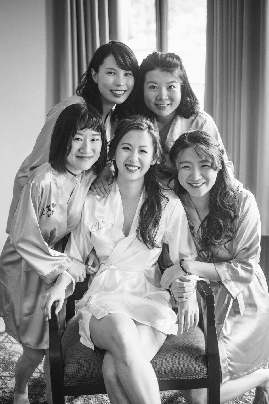 Change & Wei Wedding-Sense Events-多伦多婚礼策-Bridal party