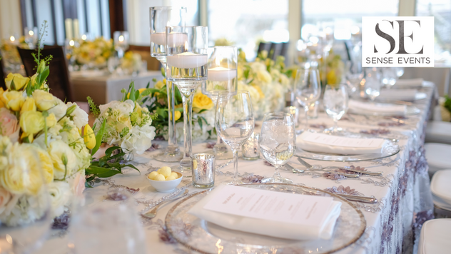 Ericas & Giggs Wedding at Ancaster Mills - Centerpieces 2