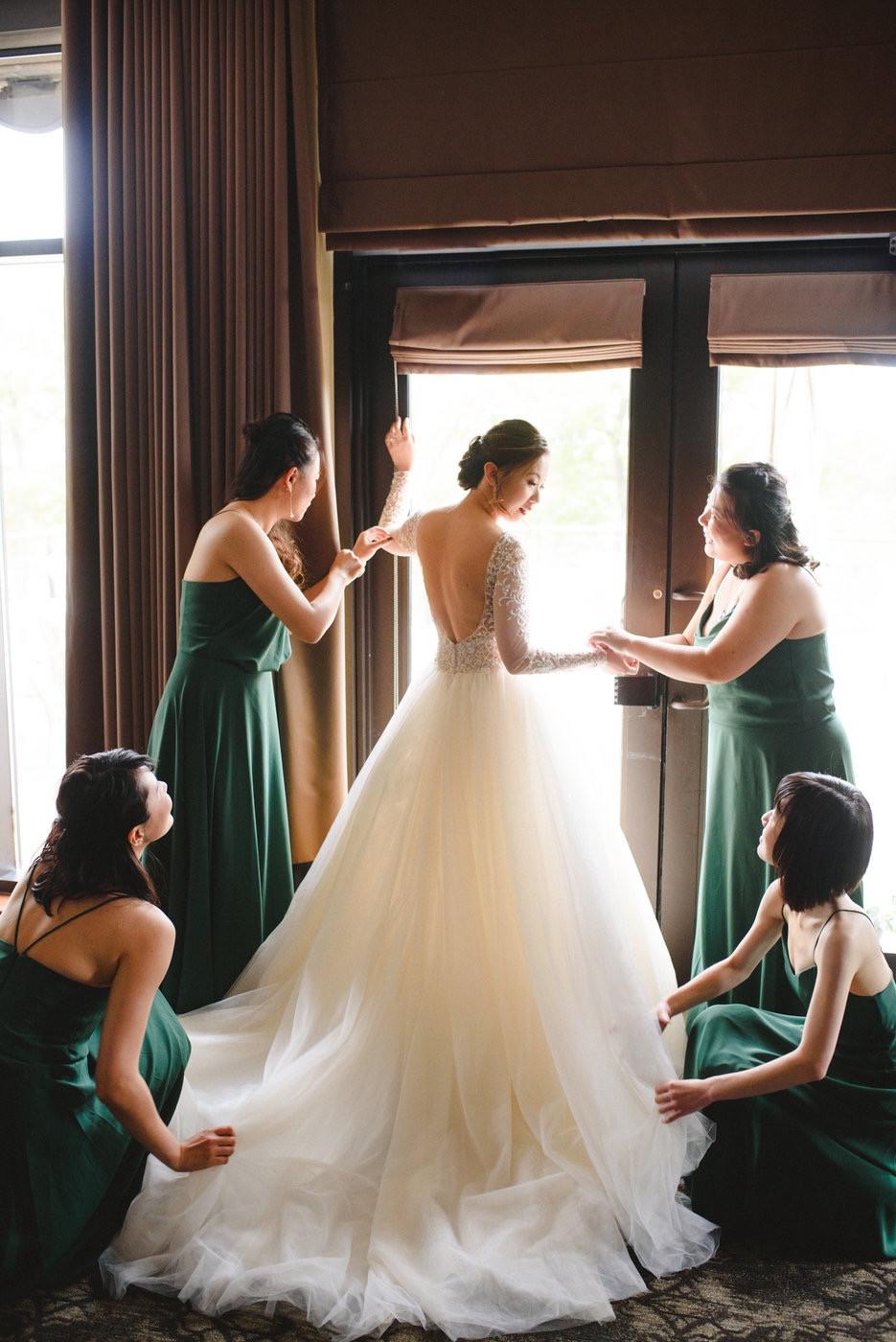 Change & Wei Wedding-Sense Events-多伦多婚礼策-Bridal party 4