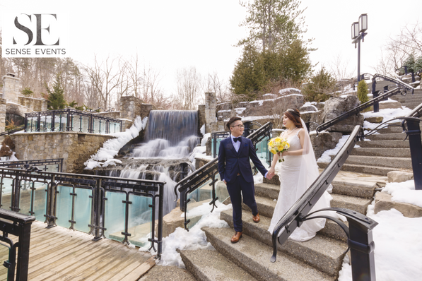 Ericas & Giggs Wedding at Ancaster Mill - Ceremony 6