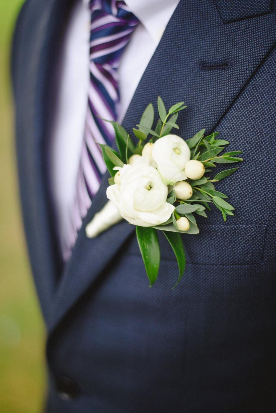 Change & Wei Wedding-Sense Events-多伦多婚礼策-Groom flower