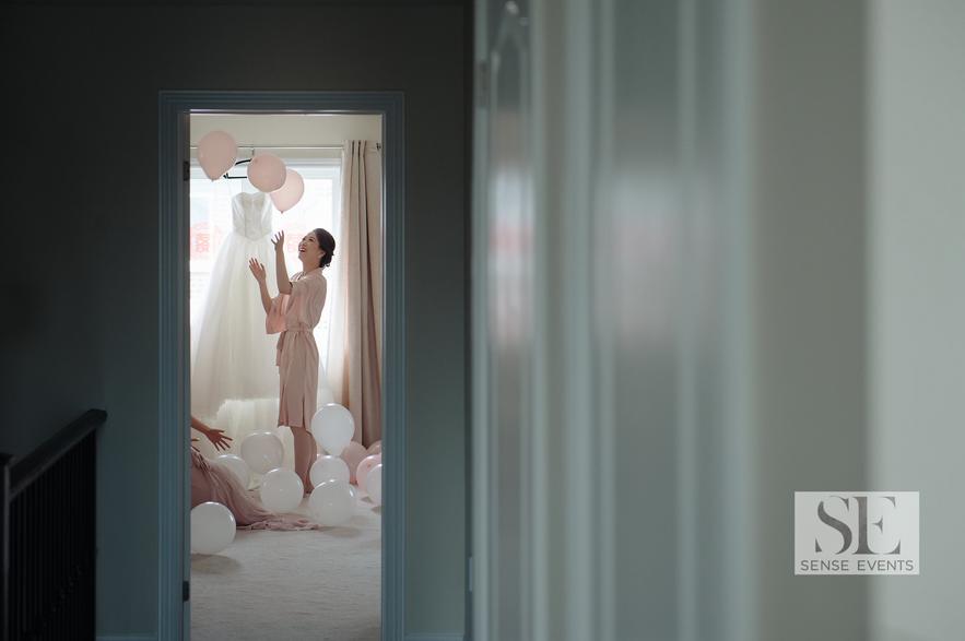 Kelly & Xinwen Wedding @ The Royal Ambassador-Sense Weddings & Events-多伦多婚礼策划-Get ready