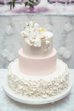 Sherry & Edwin Wedding -Avenue Banquet -Sense Weddings & Events-多伦多婚礼策划-Wedding Cake.jpg