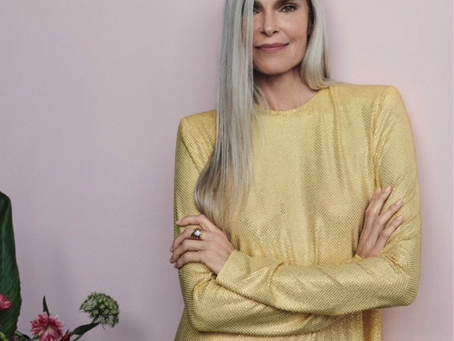 Gray Hair Transition Tips