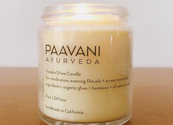 Paavani Ayurveda Ghee Candle