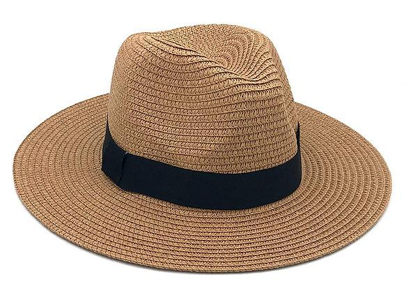 Panama Straw Fedora Hat