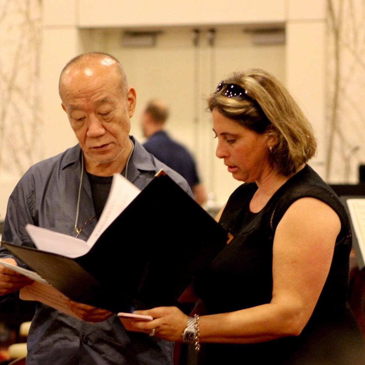 Anna Krendel and Joe Hisaishi