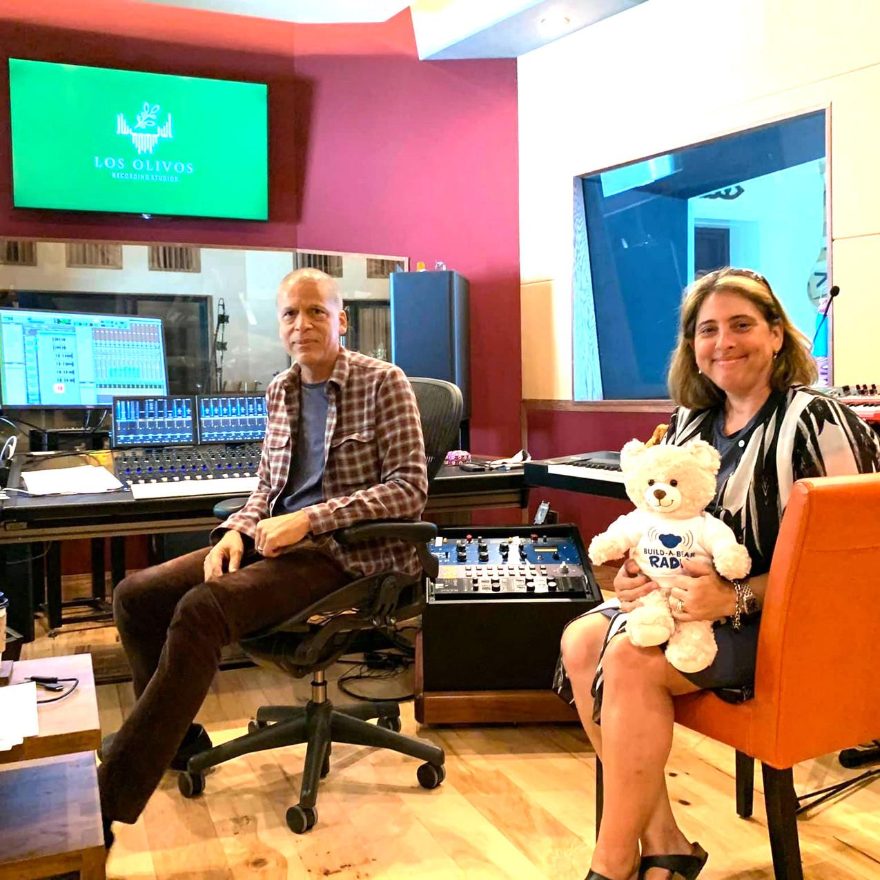 Dr. Anna Krendel in the studio