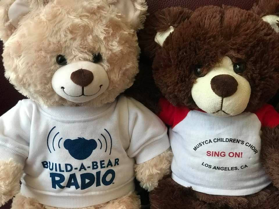 Build a Bear and MUSYCA Children's Choir