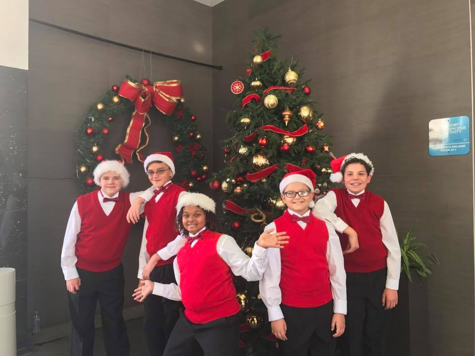 MUSYCA Boys' Choir films Audi Cars Commercial, 2017