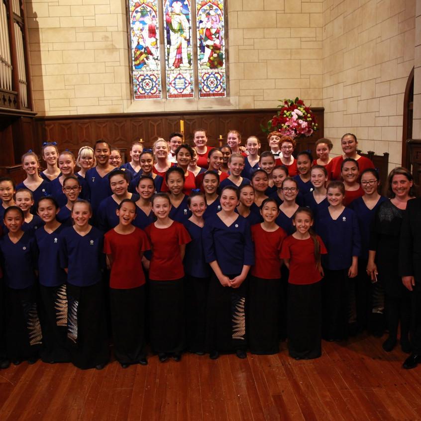 MUSYCA with Auckland Girls Choir, NZ