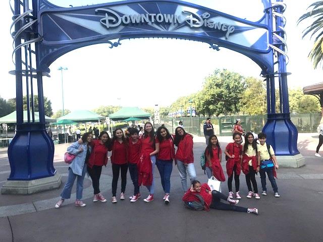 MUSYCA in Disneyland