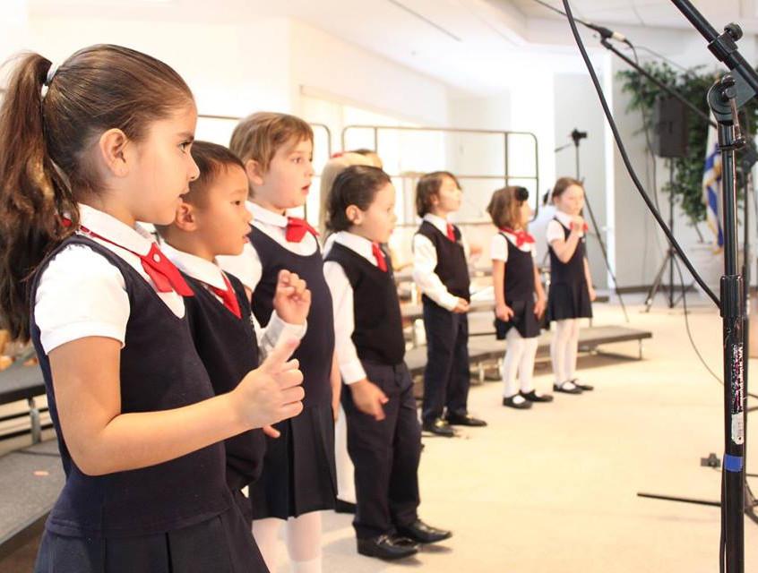 Kinderchoir sings Spring 2017 MUSYCA