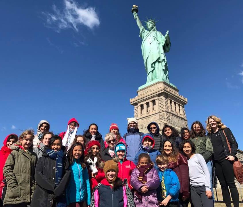 MUSYCA statue of Liberty