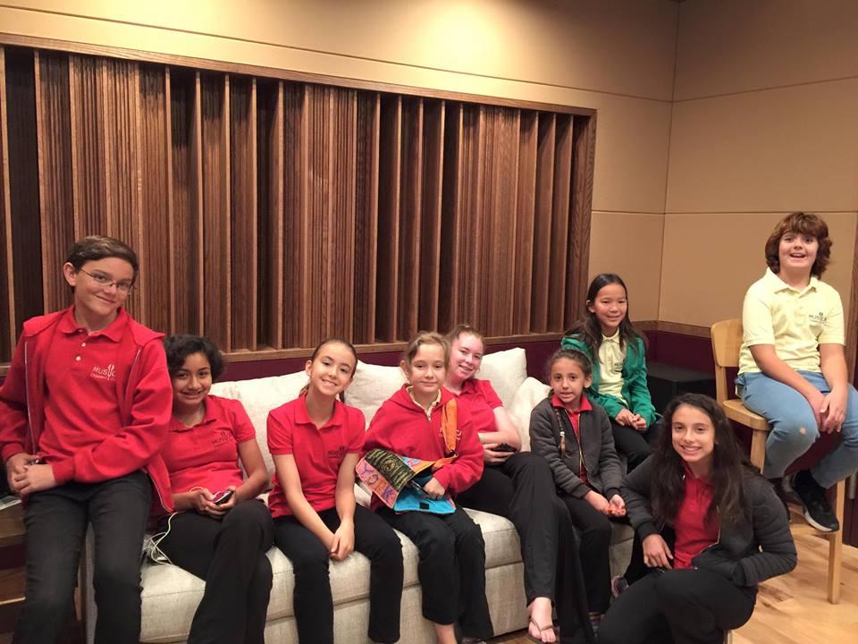 MUSYCA Children's Choir records with Beto Hale