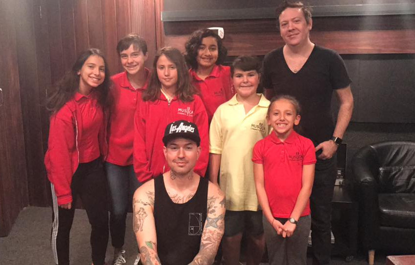 MUSYCA with Hollywood Undead