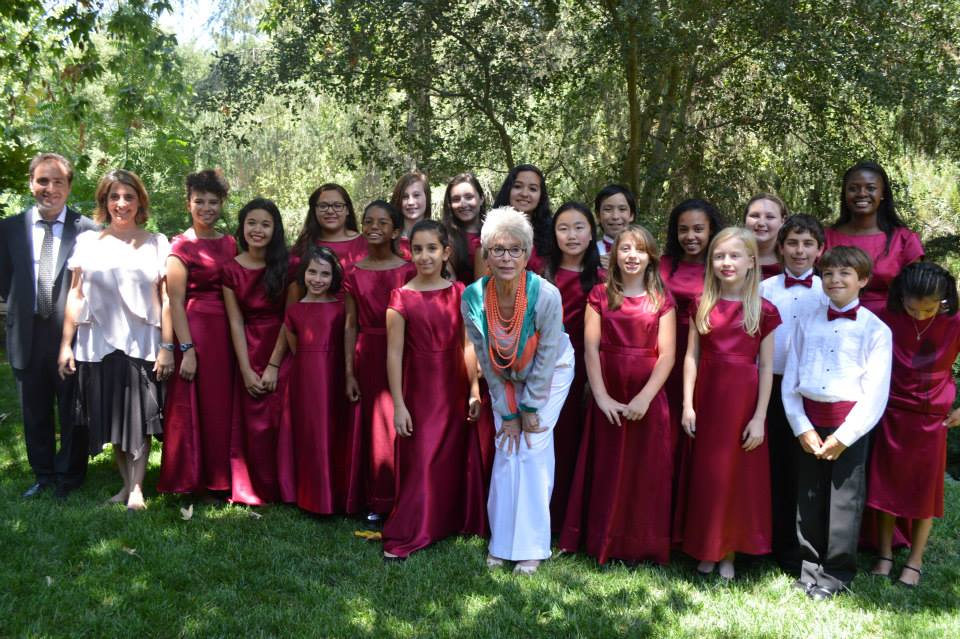 The Kids Choir with Rita Moreno