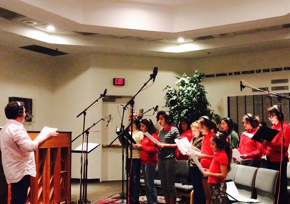 "MUSYCA Children's Chorus records ""Don't Stop Me Now"". November 16, 2016."