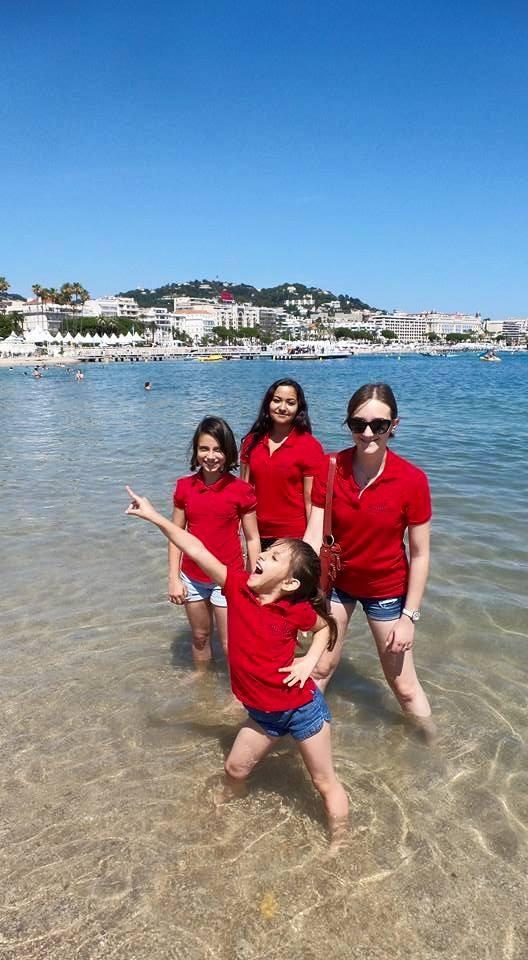 MUSYCA Children's Choir Singers having fun in Cannes, France