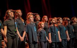 Kids Choir sings to save hearts