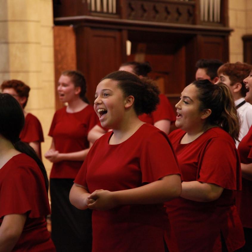 The Children's Choir in concert