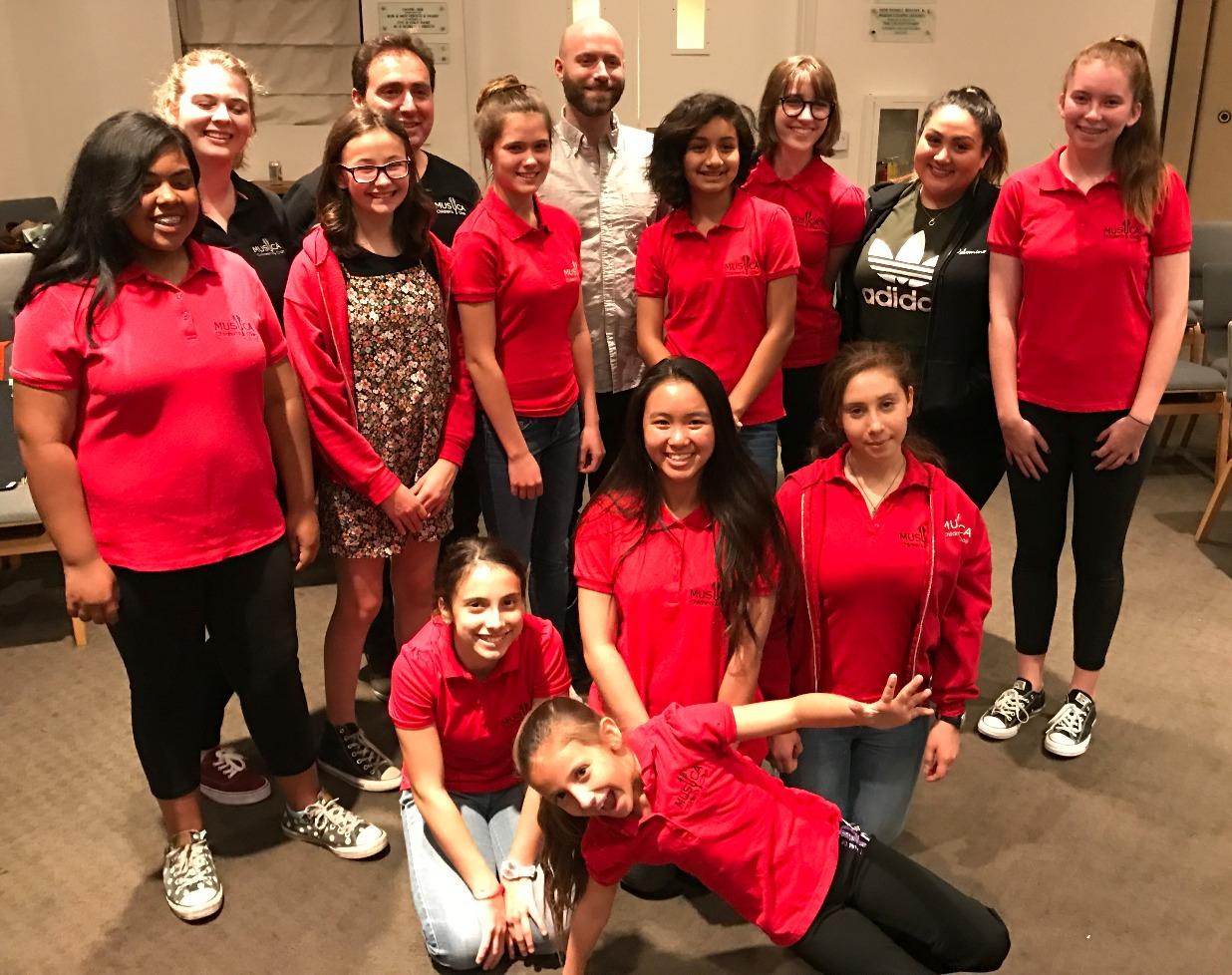 MUSYCA Kids' Choir and Dan Rome