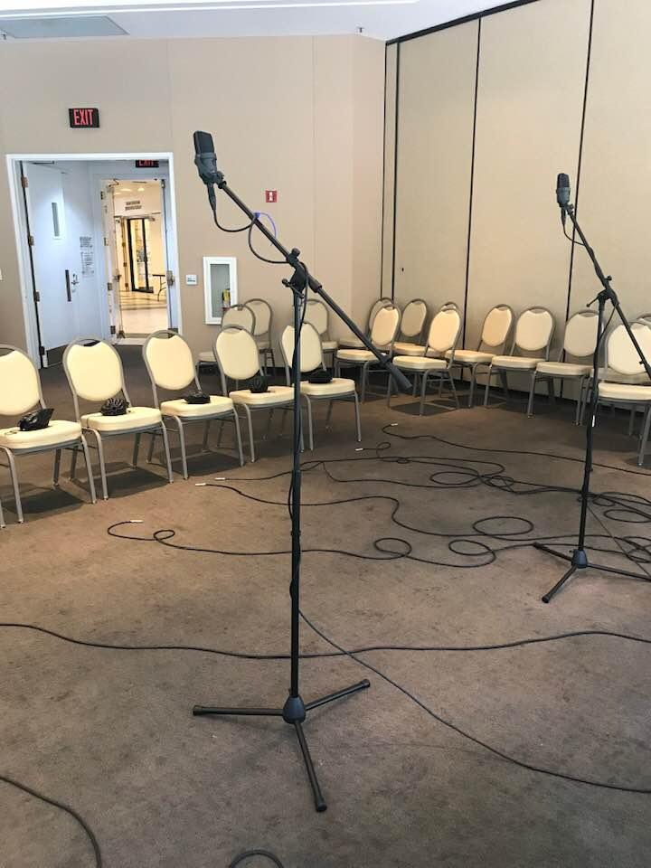 film recording session 2