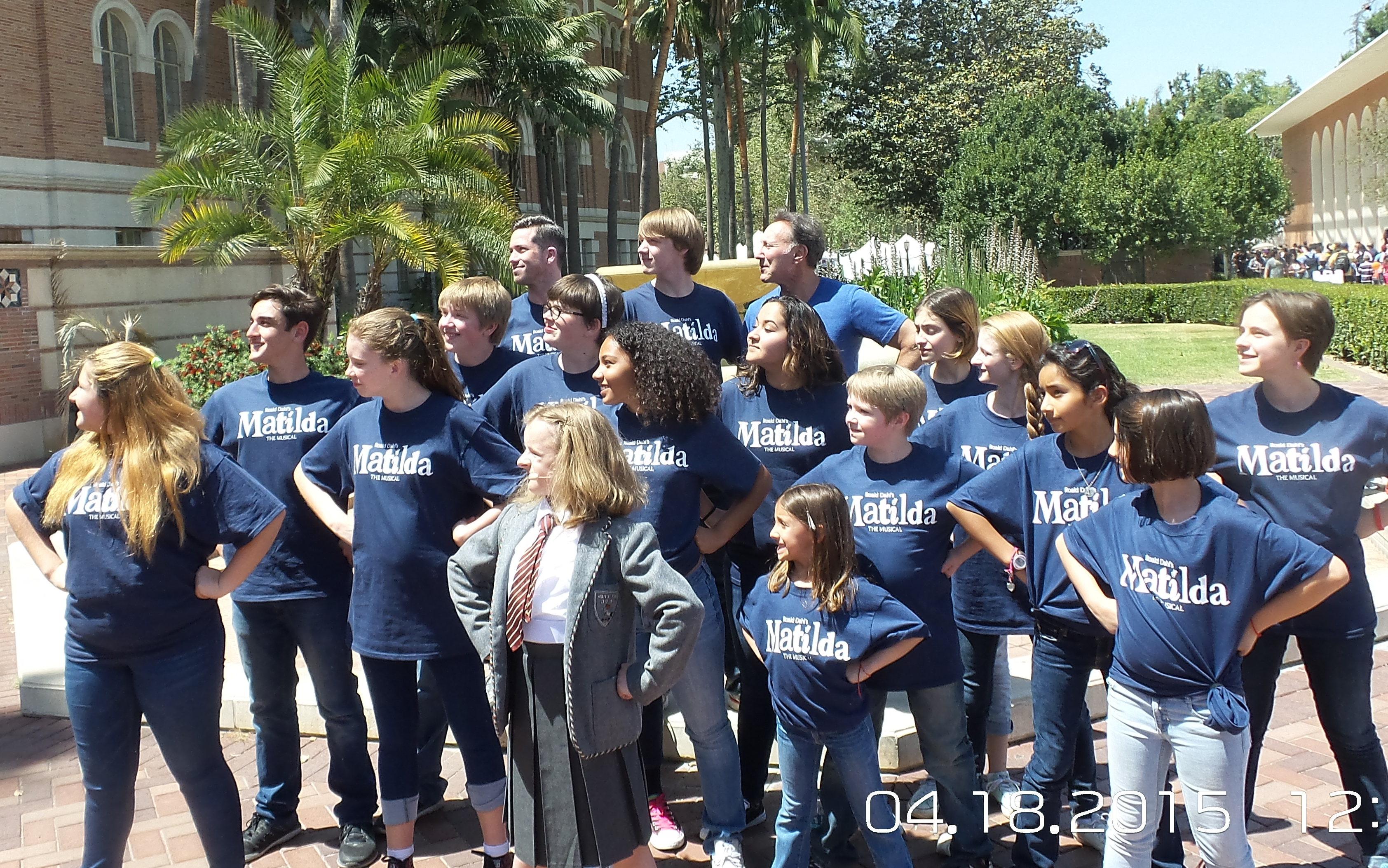 MUSYCA Childrens Choir with Broadway MATILDA star, Music Director, and Choreographer USC