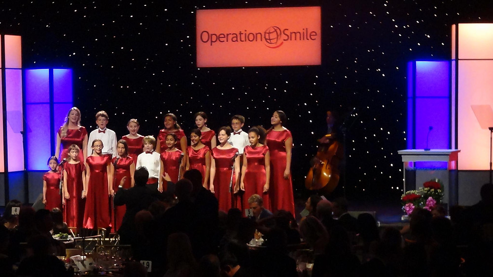 The Children's Choir performs at Operation Smile Gala in Beverly Hills