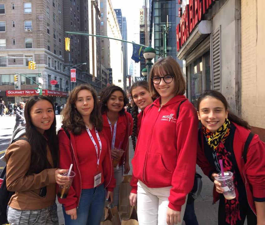 New York 2017 MUSYCA  singers
