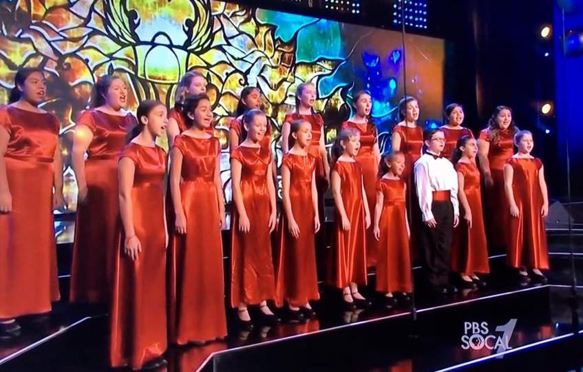 MUSYCA Chorus at Dorothy Chandler
