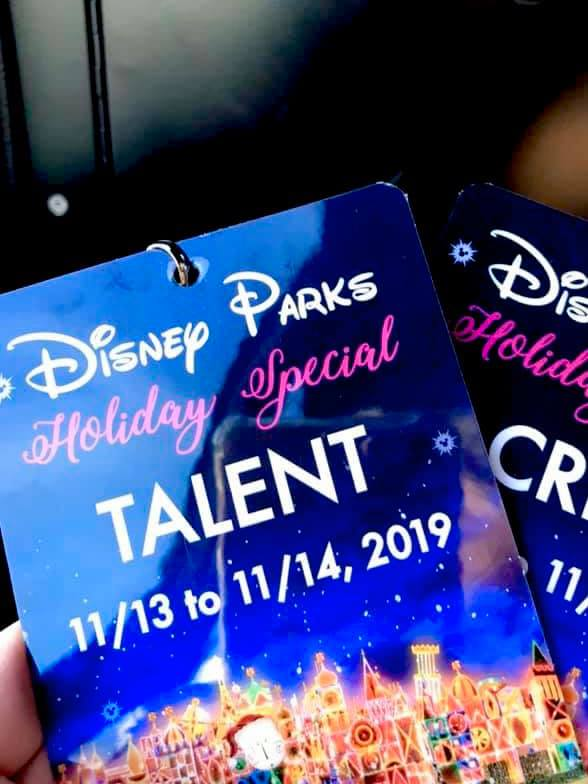 Talent Badge Disney Holiday Special