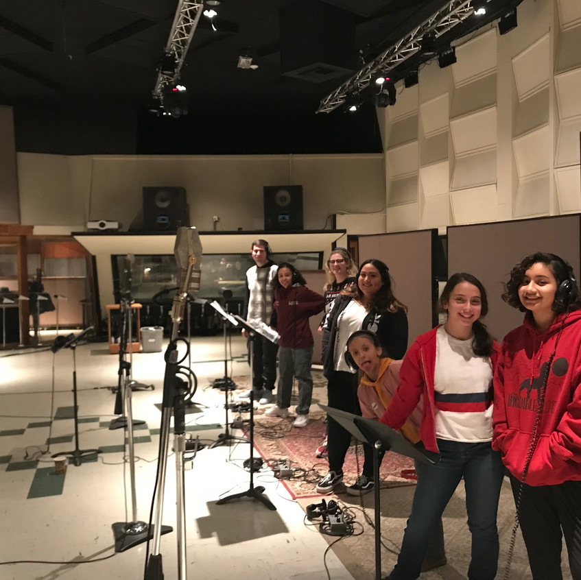 MUSYCA Children's Choir records at EastWest Studios Hollywood