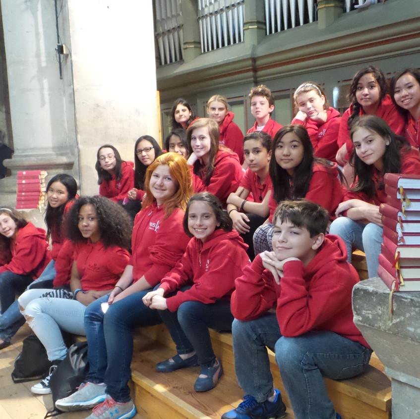 MUSYCA Performs at St Vitus Cathedral in Prague