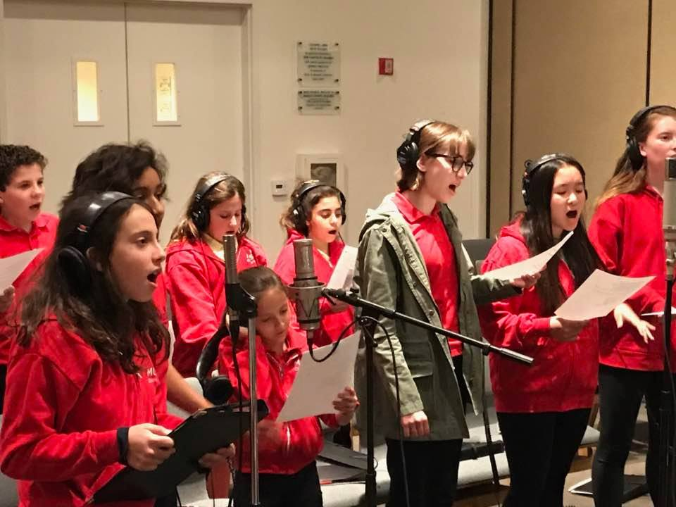 Recording MUSYCA Children's Choir Lawrence Rothman