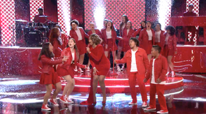 MUSYCA Children's Choir singers perform on NBC's The Voice with Jennifer Hudson