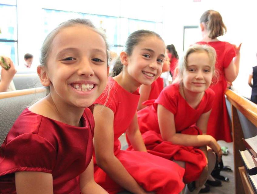 MUSYCA Children's Choir Singers