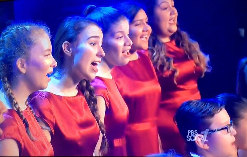 Holiday Celebration MUSYCA Choir 1