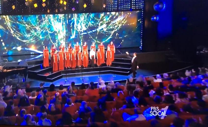 MUSYCA singers on TV