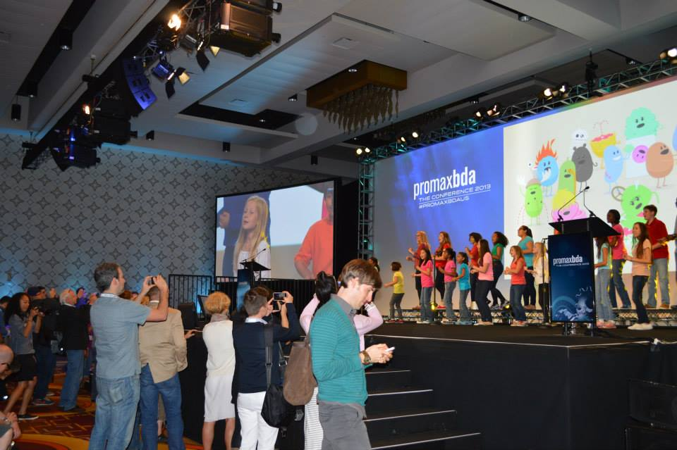 Children's Choir at PromaxBDA