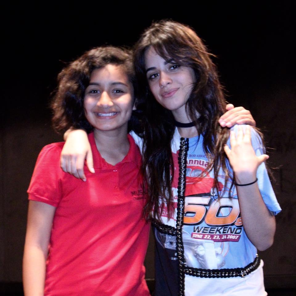 Stephanie with Camila Cabello